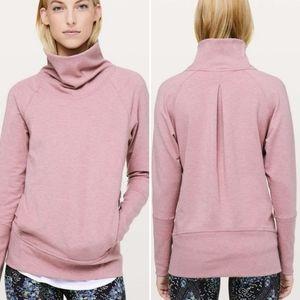 Lululemon High Lines pullover mock neck sweatshirt